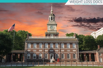 city building in Philadelphia near the weight loss clinic